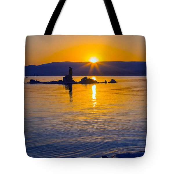 Mono Lake Sunrise Tote Bag