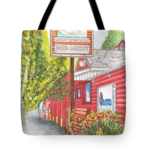 Mono Market Near Mono Lake In Lee Vining-california Tote Bag