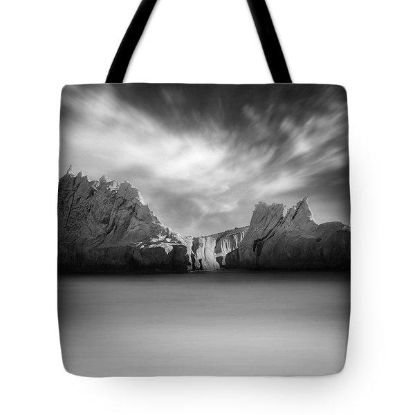 Monochrome Days Tote Bag by Taylan Apukovska