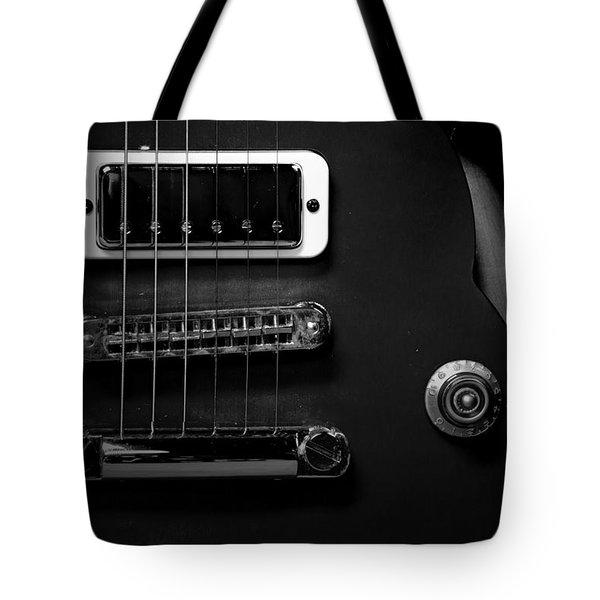 Monochrome Yamaha 3 Tote Bag by David Weeks