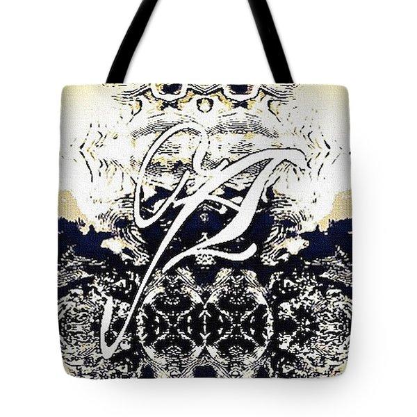 Monogram A - 0 - 11 Tote Bag