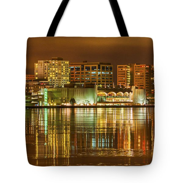 Monona Terrace Madison Wisconsin Tote Bag by Steven Ralser