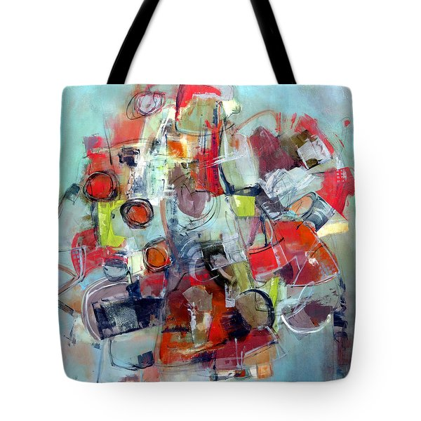 Tote Bag featuring the painting Monopoly by Katie Black
