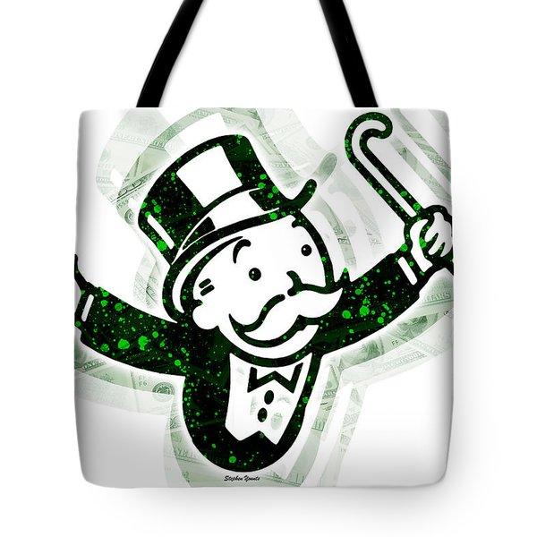 Monopoly Man Tote Bag