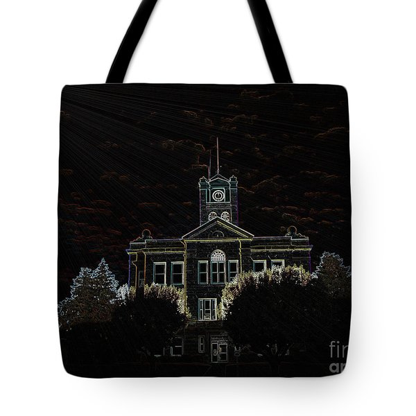 Monroe County Courthouse Tote Bag
