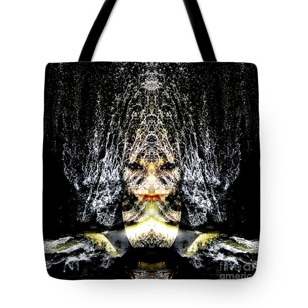 Monsoon Tote Bag by Heather King