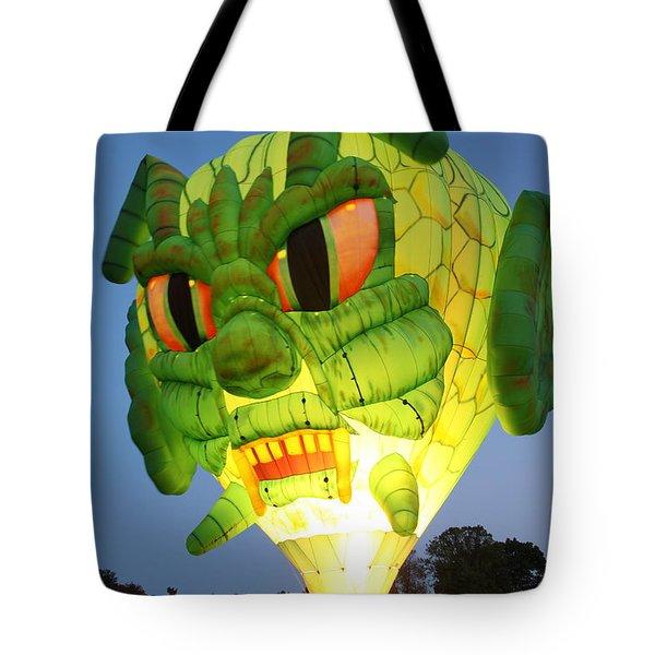 Monster Balloon Tote Bag by Richard Engelbrecht