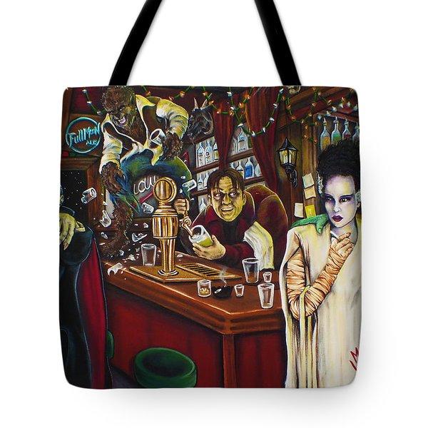Monster Bar By Mike Vanderhoof Tote Bag