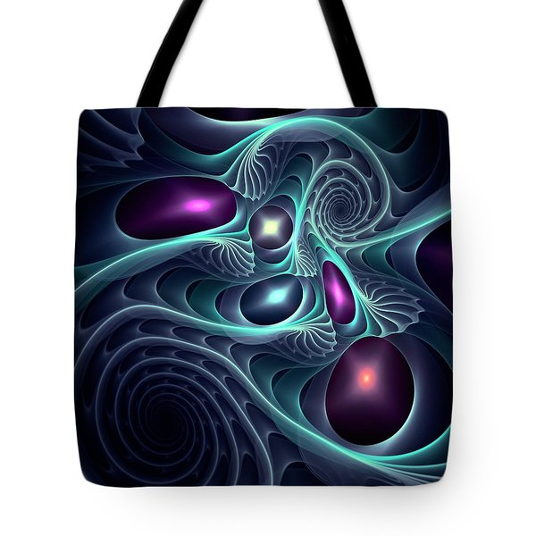Monsters Of The Deep Tote Bag