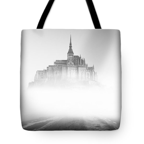 Mont Saint-michel Tote Bag by Sebastian Musial