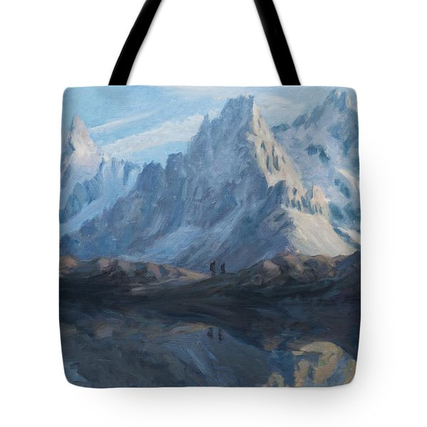 Montain Mirror Tote Bag by Marco Busoni