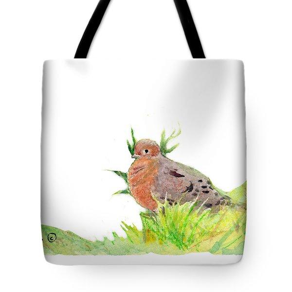 Montana Dove Tote Bag by C Sitton