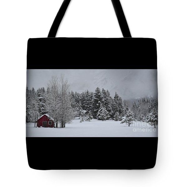 Montana Morning Tote Bag by Diane Bohna