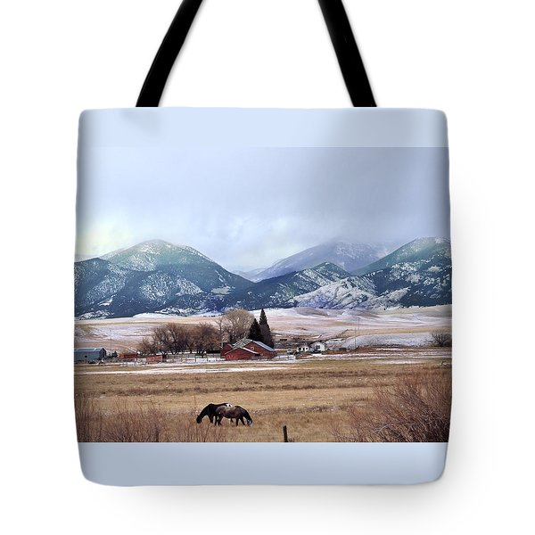 Montana Ranch - 1 Tote Bag