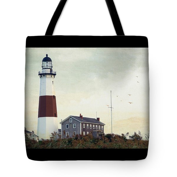Montauk Dusk Tote Bag by Keith Armstrong