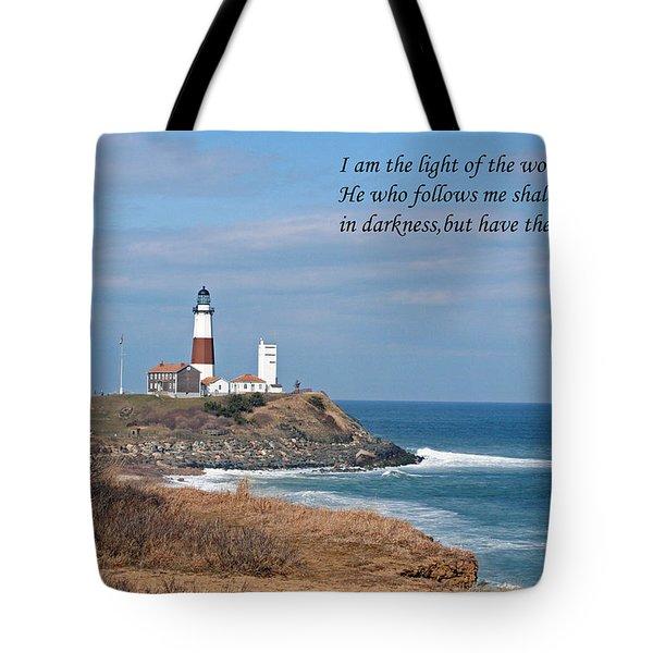 Montauk Lighthouse/camp Hero/inspirational Tote Bag