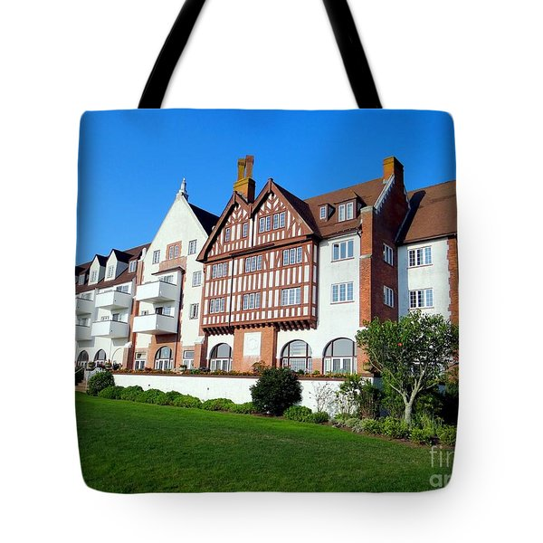 Montauk Manor Tote Bag by Ed Weidman