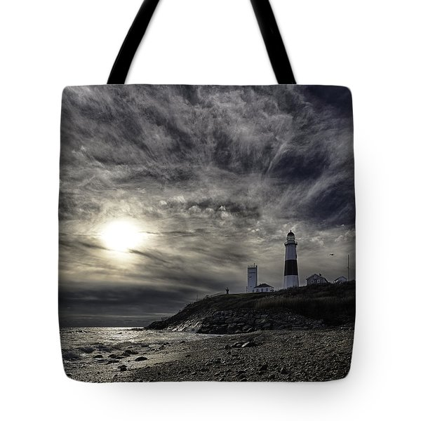 Montauk Point Lighthouse Tote Bag