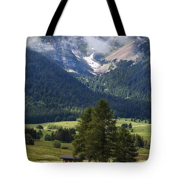 Monte Bondone Tote Bag