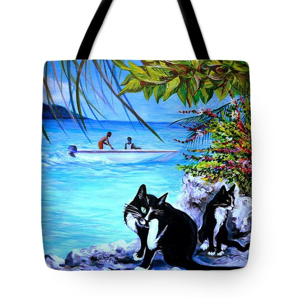 Montego Bay. Part One Tote Bag by Anna  Duyunova