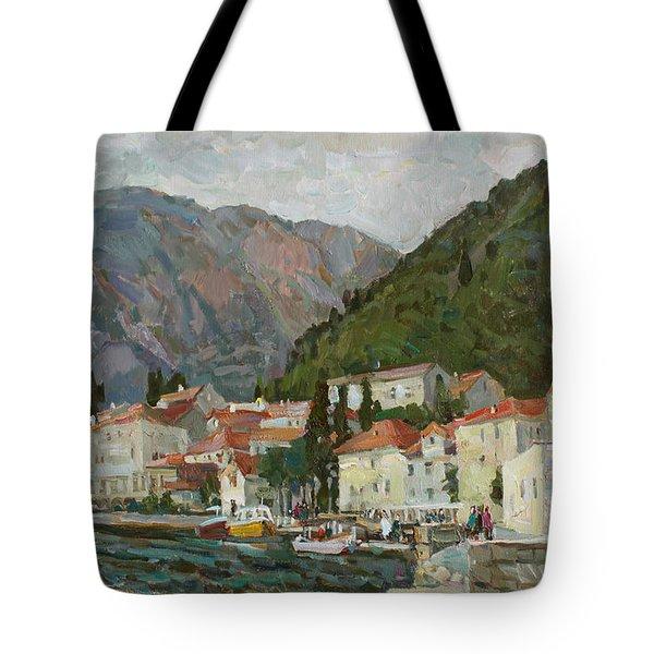 Montenegrin Venice Tote Bag