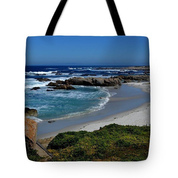 Tote Bag featuring the photograph Monterey-1 by Dean Ferreira