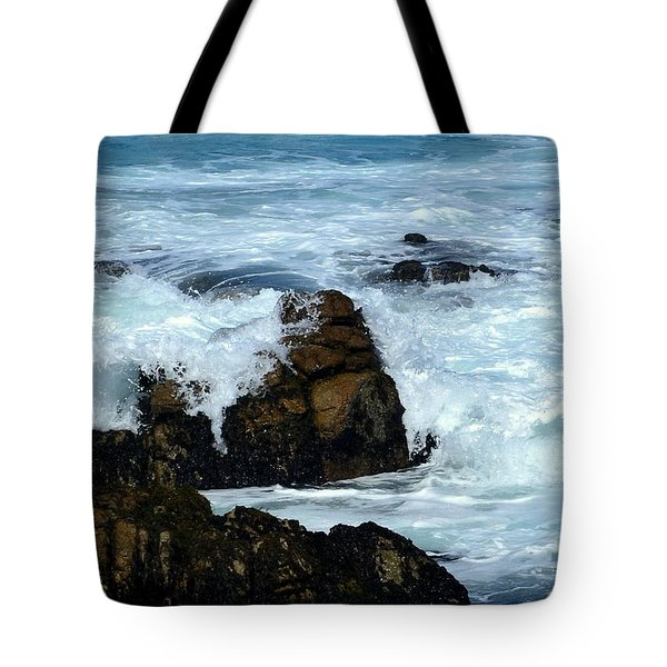 Tote Bag featuring the photograph Monterey-2 by Dean Ferreira