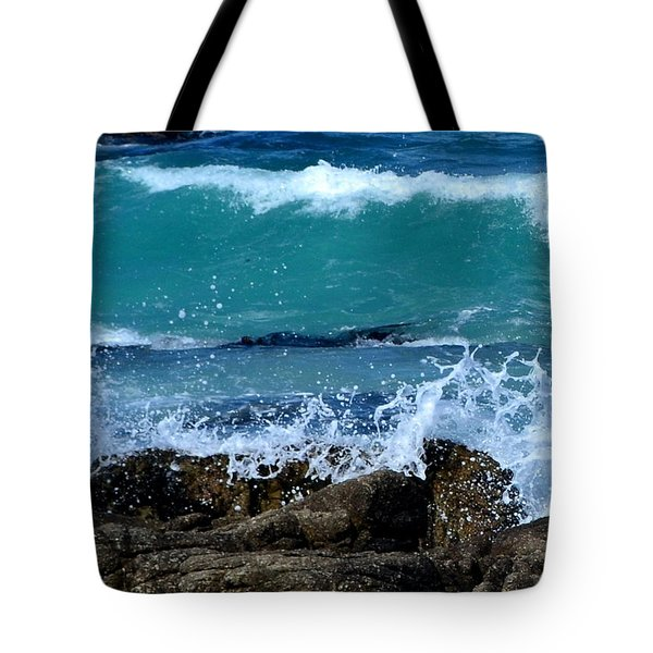 Tote Bag featuring the photograph Monterey-3 by Dean Ferreira
