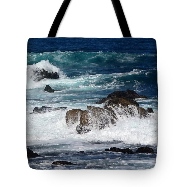 Tote Bag featuring the photograph Monterey-6 by Dean Ferreira