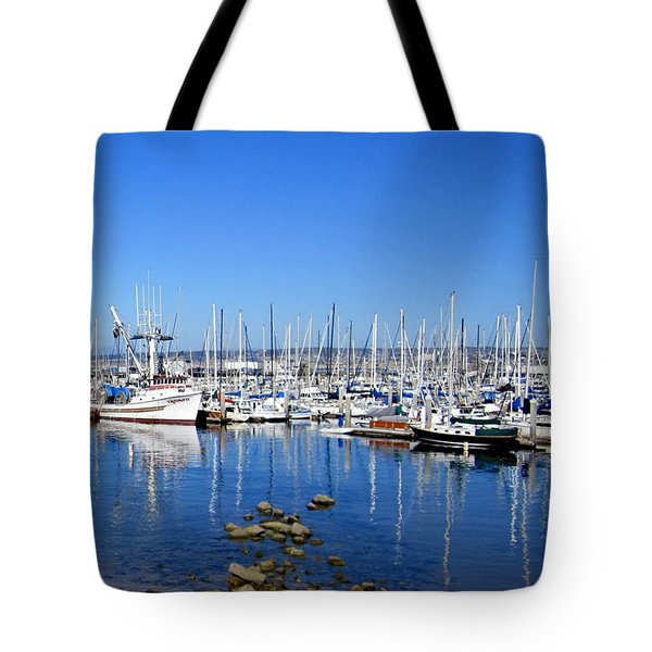 Tote Bag featuring the photograph Monterey-7 by Dean Ferreira