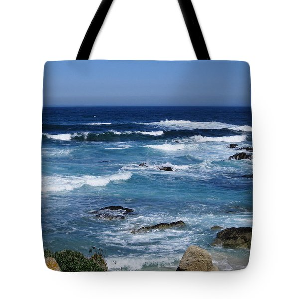 Tote Bag featuring the photograph Monterey-9 by Dean Ferreira