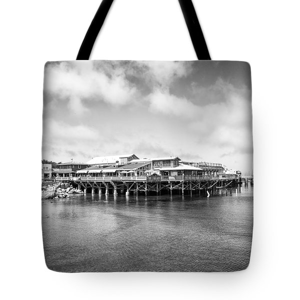 Monterey Old Fisherman's Wharf Tote Bag