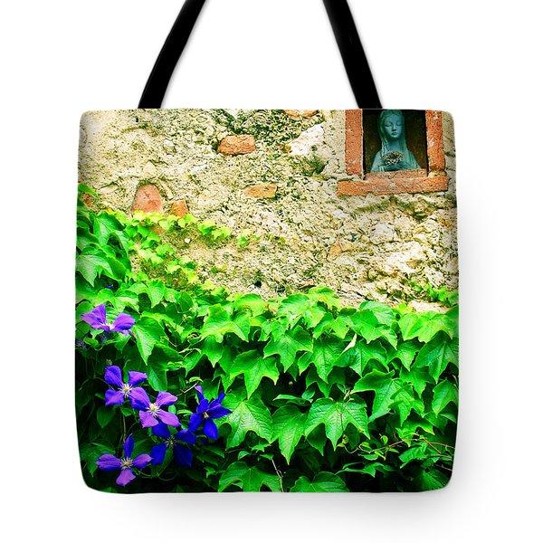 Monteriggioni Virgin Tote Bag