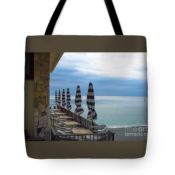 Monterosso Outdoor Cafe Tote Bag