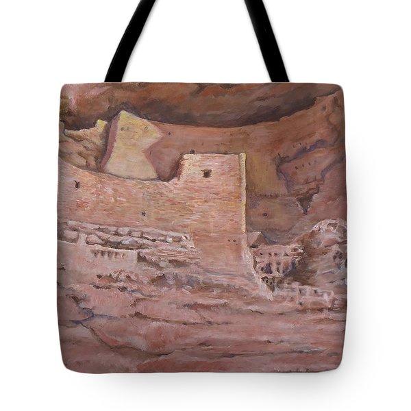 Montezumas Castle Tote Bag