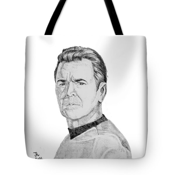 Montgomery Scott Tote Bag