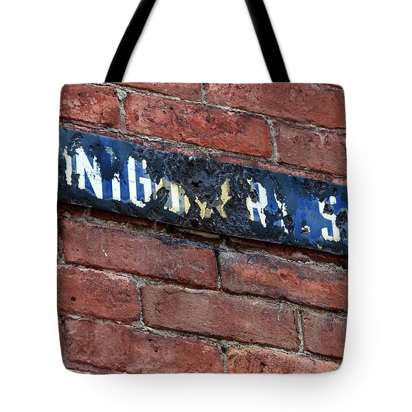 Montgomery St. Tote Bag