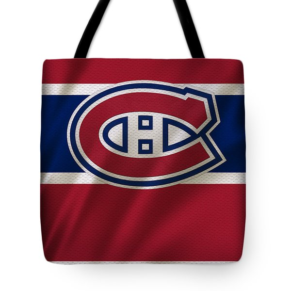 Montreal Canadiens Uniform Tote Bag