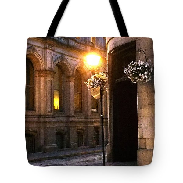 Montreal Night Tote Bag by Steve Archbold