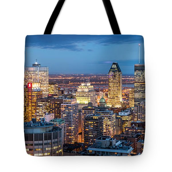 Montreal Panorama Tote Bag