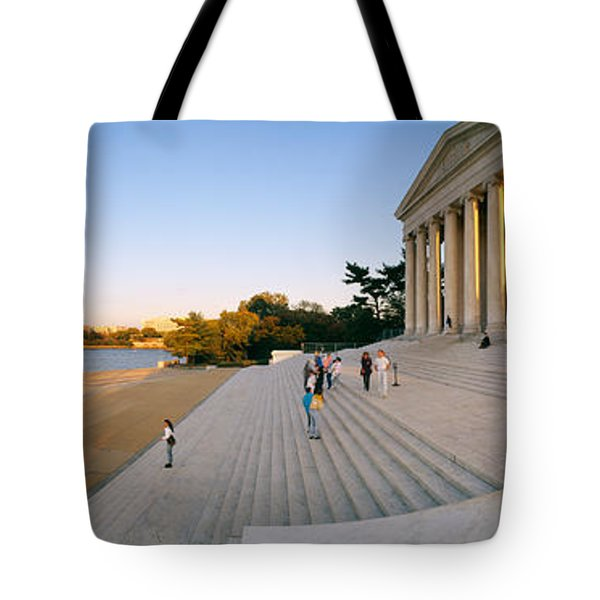 Monument At The Riverside, Jefferson Tote Bag