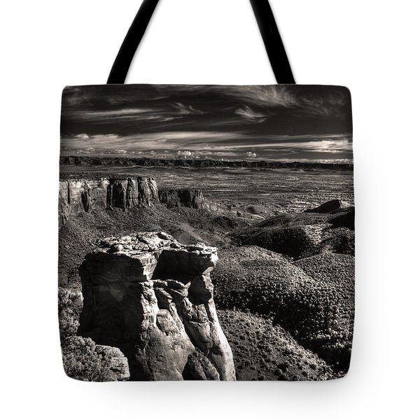 Monument Canyon Monolith Tote Bag