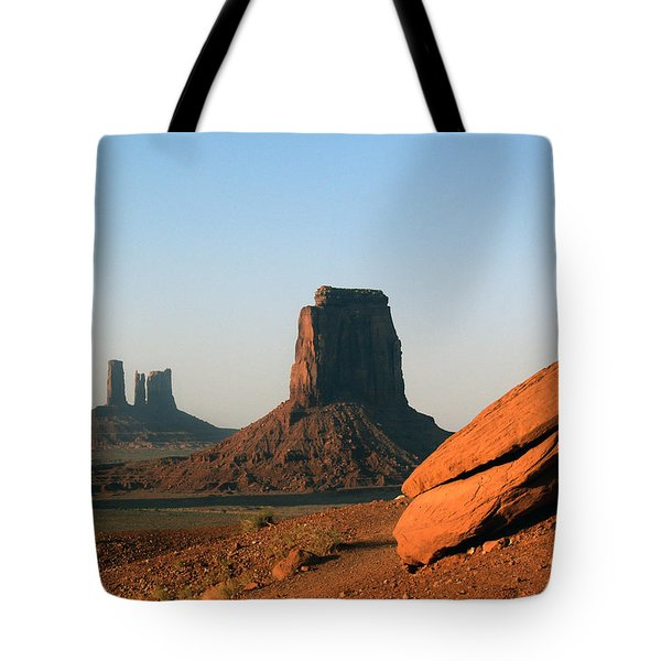 Monument Valley Afternoon Tote Bag by Jeff Brunton