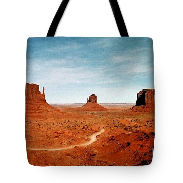 Tote Bag featuring the photograph Monument Valley by The Art of Alice Terrill