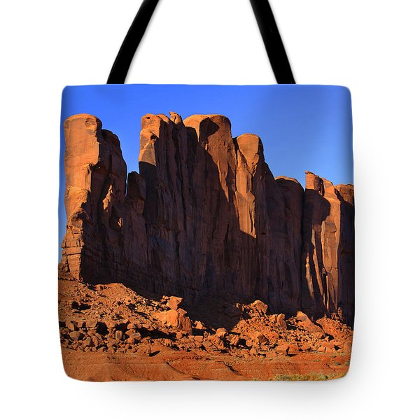 Monument Valley - Camel Butte Tote Bag by Mike McGlothlen