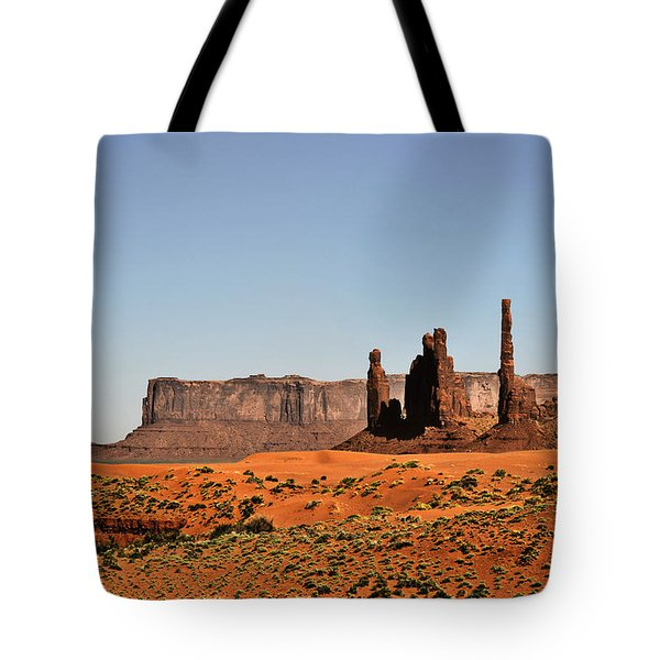 Monument Valley - Icon Of The West Tote Bag by Christine Till