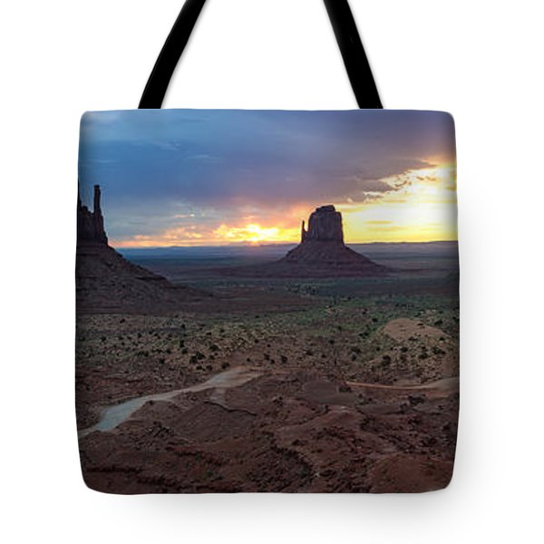 Monument Valley Navajo Tribal Park An Image Worth More Than A Thousand Words Tote Bag
