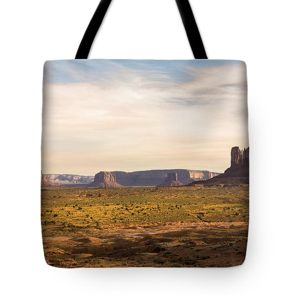 Monument Valley Sunset - Arizona Tote Bag