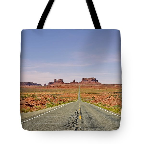 Monument Valley - The Classic View Tote Bag by Christine Till