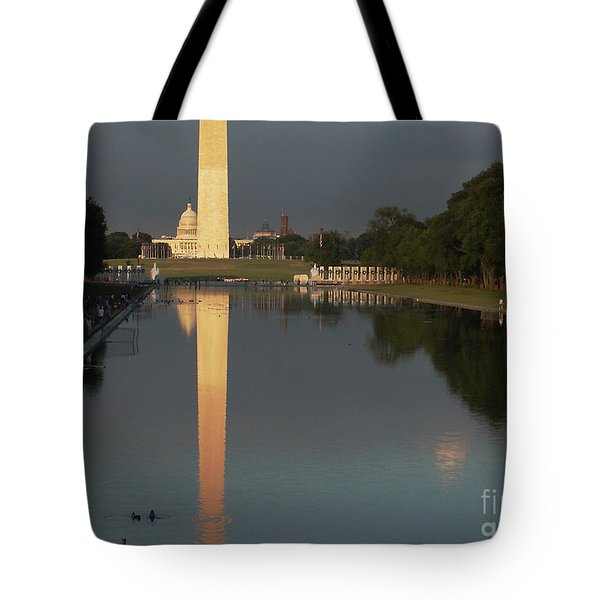 Monumental Reflection Tote Bag